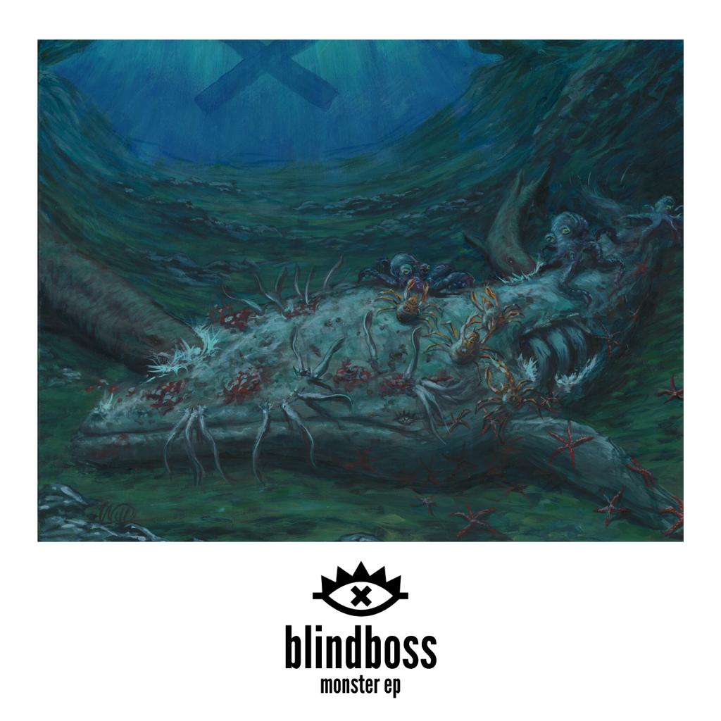 Blindboss Monster EP Cover